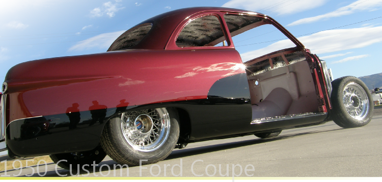 1950 Custom Ford Coupe